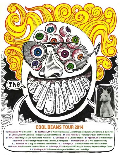 The Fatty Acids Cool Beans Tour 2014