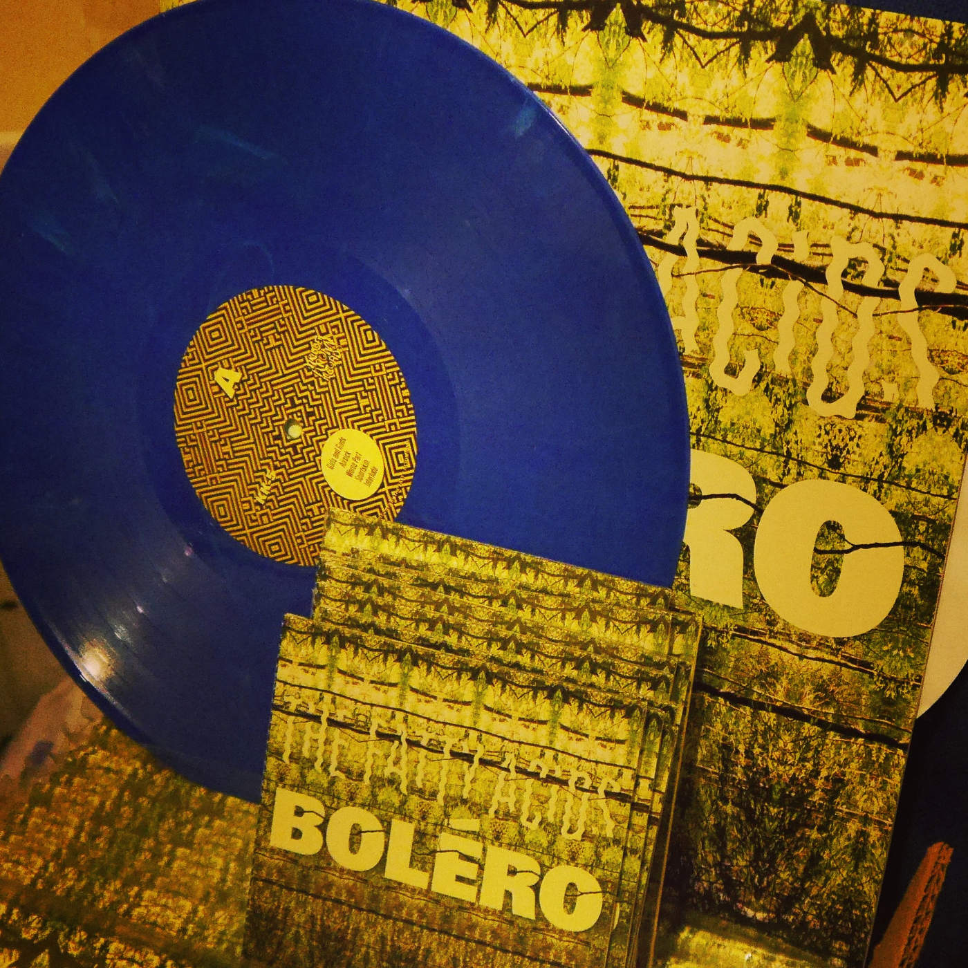 The Fatty Acids: Boléro [blue vinyl + CD]