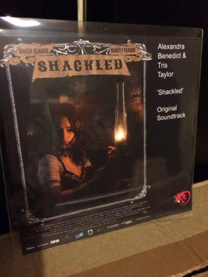 Shackled - CD (front cover)