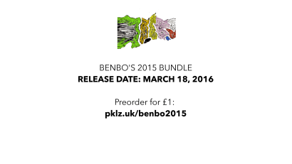Benbo's 2015 Bundle – release date: March 18, 2016 - Preorder for £1: pklz.uk/benbo2015